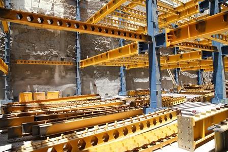 اجرای اتصالات پیچی در سازه های فولادی